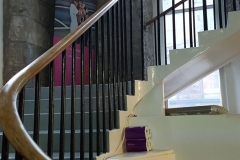 Stairs up to sisters hall